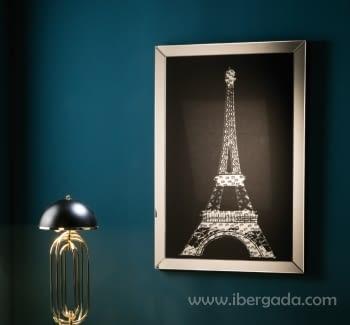 Cuadro Espejo Paris (120x80)