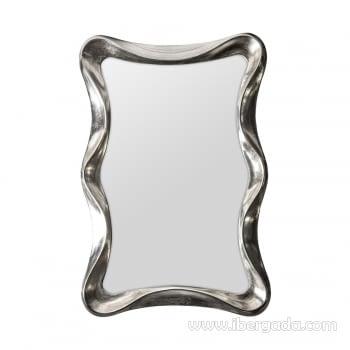 Espejo Ondas Plata (121x80)