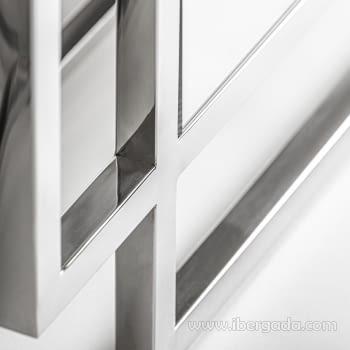 Espejo Copy Acero (110x80) - 1