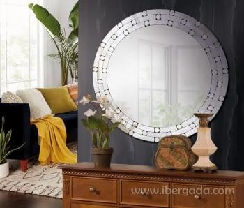 Espejo Glass Redondo (80x80)