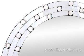 Espejo Glass Redondo (80x80) - 1