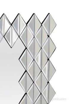 Espejo Glass Rombos (104x81) - 1