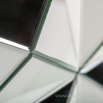 Consola Glaciar Plata/Espejo (120x36x80) - 3