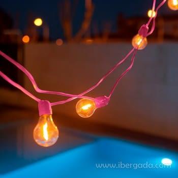 Guirnalda Allegra 10 bombillas (800cm)