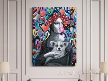 Acrilico Dama Armiño Pop (90x120)