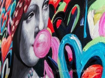 Acrilico Dama Armiño Pop (90x120) - 2