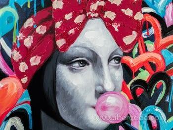 Acrilico Dama Armiño Pop (90x120) - 3