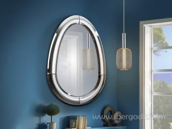 Espejo Curves Oval (115x80)