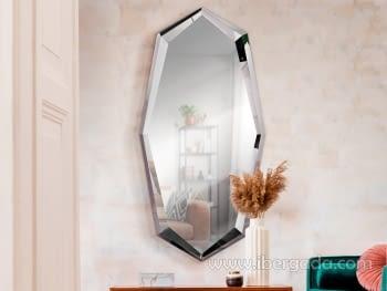 Espejo London Acero (180x90)