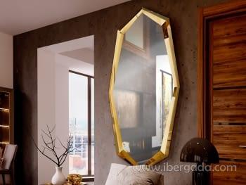 Espejo London Oro (180x90)