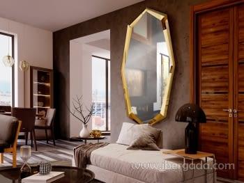 Espejo London Oro (180x90) - 1