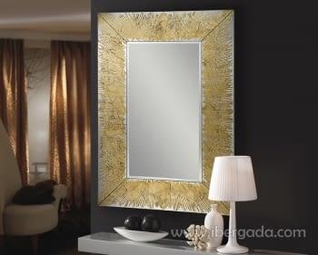 Espejo Aurora Oro (120x80)
