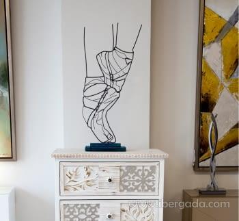 Escultura Bailarina (30x14x70) - 1