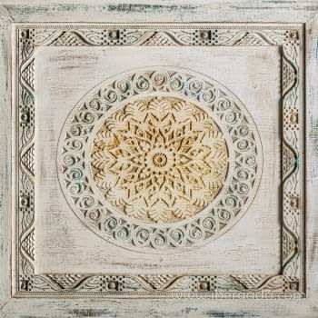 Mesa de Comedor Jaipur Hierro/Madera (190x90x78) - 4