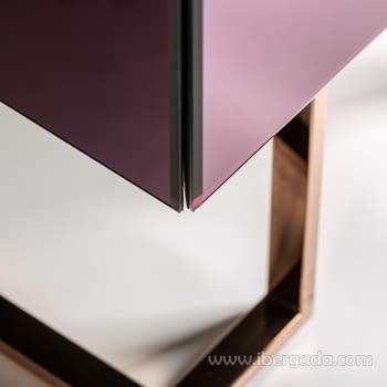 Mesita Purple Fussion 2 Cajones (60x40x65) - 3