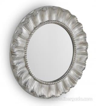 Espejo Redondo Plata (83x83)