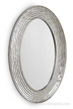 Espejo Ovalado Plata (104x74)