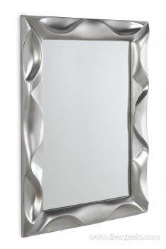 Espejo Rectangular Plata (113x83)