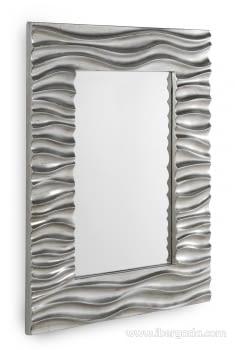 Espejo Rectangular Plata (108x78)