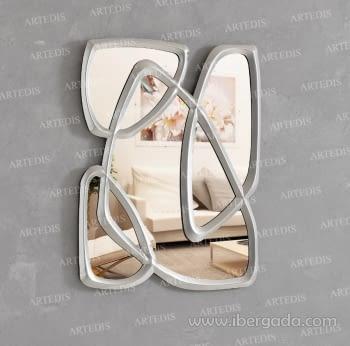 Espejo Bianca Plata (78x61)
