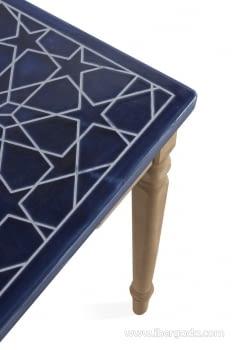 Consola Ceramica Azul (120x40x78) - 2