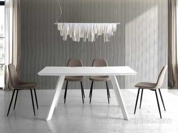 Mesa de Comedor Columba Blanca (160x90)