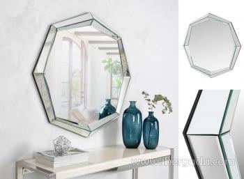 Espejo Octogonal Cristal (90x90)