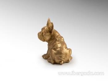 Figura Bull Frances Oro Pequeña - 2