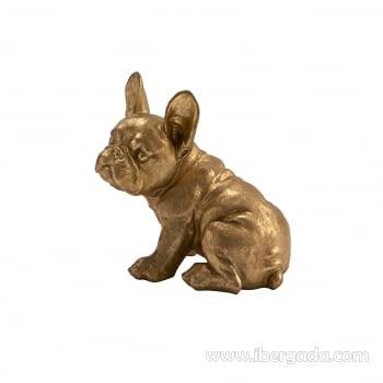 Figura Bull Frances Oro Pequeña - 4