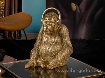 Figura Orangutan Music Oro