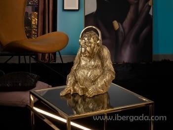 Figura Orangutan Music Oro - 1