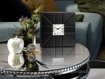 Reloj de Sobremesa Rose Black  (26x26)