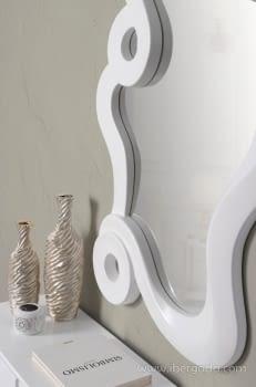 Espejo Dalí Blanco (127x75) - 1