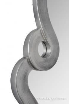Espejo Dalí Plata Patinada (127x75) - 3