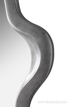 Espejo Dalí Plata Patinada (127x75) - 4