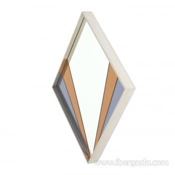 Espejo Art Deco Rombo Multicolor (90x60) - 1