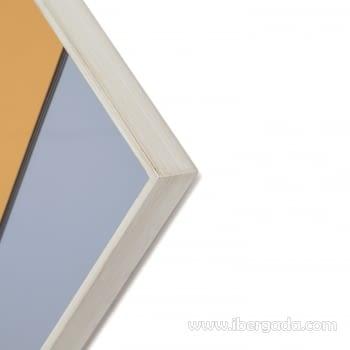 Espejo Art Deco Rombo Multicolor (90x60) - 2