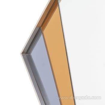 Espejo Art Deco Rombo Multicolor (90x60) - 3