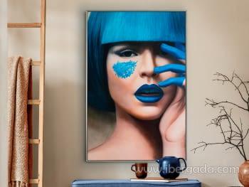 Lienzo Impreso Blue (120x80)