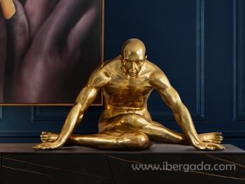 Figura Yoga Oro Grande