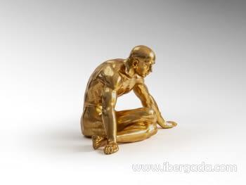 Figura Yoga Oro Grande - 4