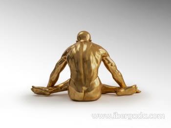Figura Yoga Oro Grande - 5