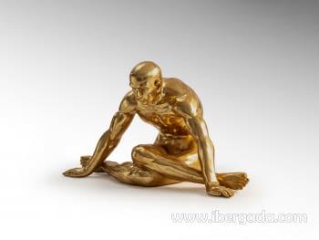 Figura Yoga Oro Grande - 6