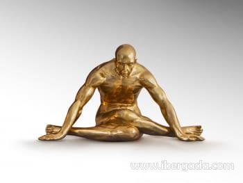 Figura Yoga Oro Grande - 7