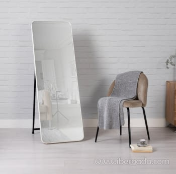 Espejo Vestidor Zenit Blanco (150x50)