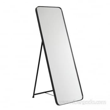 Espejo Vestidor Zenit Negro (150x50) - 1
