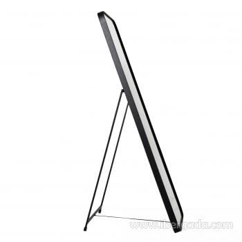 Espejo Vestidor Zenit Negro (150x50) - 2