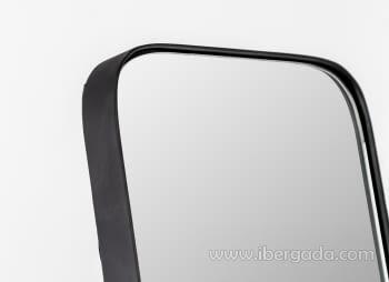 Espejo Vestidor Zenit Negro (150x31) - 1