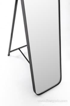 Espejo Vestidor Zenit Negro (150x31) - 2