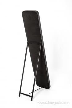 Espejo Vestidor Zenit Negro (150x31) - 3